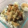 チキンの肉汁でグレイビーソースを作りました!