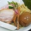 自家製麺5102  つけ麺  味玉