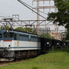 貨物列車撮影 5/1 石炭列車5783レ、EF65 2089充当 77レなど