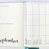 【Bujo】9月マンスリーとちょこっとウィークリー