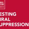 Week3は「検査を受け、ウイルス量を抑える」 UNAIDS世界エイズデーキャンペーン