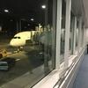 30分以上遅れて、羽田行きJL70便に搭乗