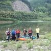 シーカヤックで宮川をダウンリバー、そして鰻丼を食べたキャンプツーリング
