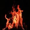 京都のスタジオで火災