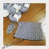 ヴォーグ棒針編み講師認定講座の作品を片づける!