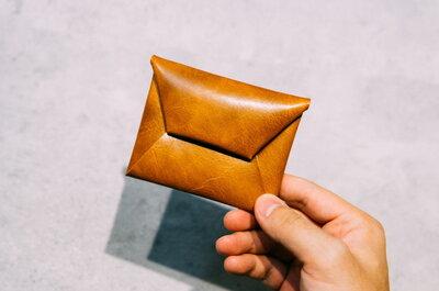 2400円のポケット革財布がミニマムで使いやすい!