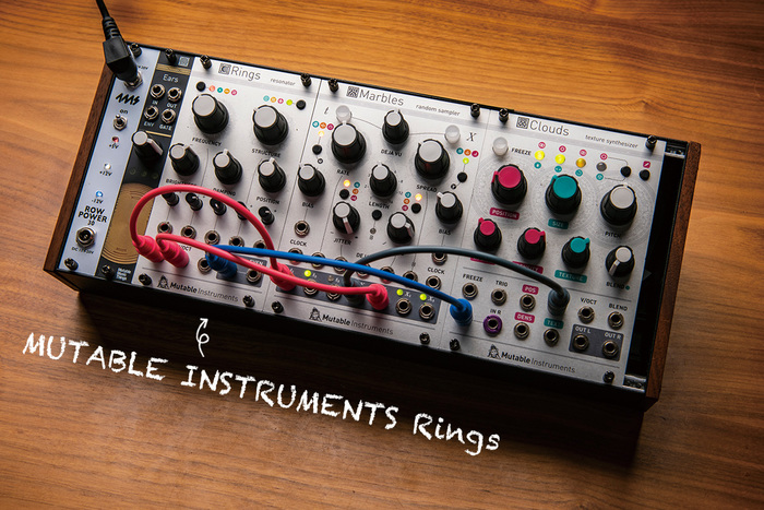 Patch The World For Peace 〜モジュラー・シンセを選ぶ理由〜第2回 MUTABLE INSTRUMENTS Rings