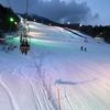岩木山百沢スキー場ナイター終了