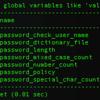 MySQLで新規ユーザーのパスワードに記号を使わないようにする設定