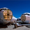 Exploring California's surreal airplane 'graveyards' by night