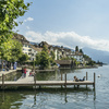 スイスのツークという街になじみ深い男たち