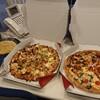 久しぶりにお昼にピザを食べました