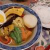 スープカレー、生姜焼き。