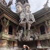【タイの美しき彫刻寺】サンクチュアリオブトゥルースに行ってきました!