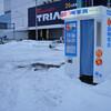 厳冬の証明写真機と水道管凍結