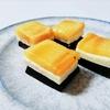 材料費50円!?柿とチーズとチョコレート なんちゃってミルフィーユおやつ