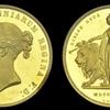 イギリス1839年ヴィクトリア  ウナ&ライオン 5ポンド金貨PCGS PR 63 DCAM