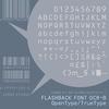 フラッシュバックからJIS X 9001に準拠するバーコードなど向けのOCR-Bフォントが発売