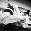ブラジリアン柔術。クロスガードからの絞め技。白帯のうちに覚えておくべき3つ