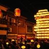 『富山県横断の旅』2.越中八尾の曳山祭