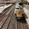 趣味の鉄道模型を走らせる及び、昨日の夕食