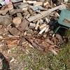 薪割りの片付けから これが最高 Organizing chopping wood This is the best