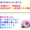 更年期症状の治療(1)〜「更年期」を知って「幸年期」へ!③〜