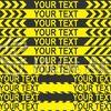 標識・看板 CAUTIONラインセット2の無料イラスト