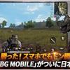 PUBG MOBILE 正式リリース!