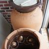 つぼ焼き芋の壺