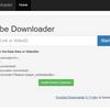 YouTubeダウンローダー[Github]オープンソース