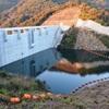 路木ダム、試験湛水