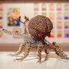 電子パーツで作られた精巧なアート作品を見てきたよ!〜元麻布で開催中の美術展「FLAT展」
