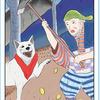 日本昔話タロット 小アルカナ「花咲か爺さん」冬の物語
