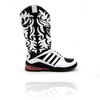 万人受けはきっとしないほど奇抜な adidas ObyO×Jeremy Scott JS MEGA SOFT CELL BOOTS WHITE/BLACK