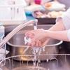 台所のシンク周りの掃除を減らす方法 銅製水切りカゴに替えるだけ