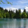 シャモニー近郊の湖畔散策でマティスとシャガール作品がある教会発見?