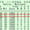 2013 KCWAコンテスト 結果発表  - 2位/62局 -