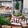 庭の改造。シンボル塔が完成!レンガと砂利でこんなにオシャレになった!