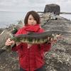 アキアジはまだまだ釣れますよ!11/21in網走#19