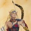 【キャラクターイメージ画】エルフの戦士