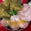 「麺童 虎徹」の豚骨醤油らーめん(並)とチャーシュー(大)と白めし(小)@新川崎/幸区