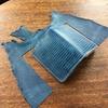 藍染リザードが良すぎるので、革の藍染をすることに。