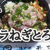 【丼丸(どんまる)⑫】おすすめメニュー 「バラねぎとろ丼」超うまい…おつまみめし!※YouTube動画あり