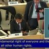 第43回人権理事会:障害者の権利に関する特別報告者との双方向対話を開催/拷問および他の残虐な、非人道的なまたは品位を傷つける取り扱いまたは刑罰に関する特別報告者との双方向対話を終結