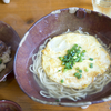 沖縄そば「八重瀬町エリア」一覧、アーサ麺によもぎ麺(南部)