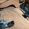 車内ルームクリーニング#17  ポルシェ/カイエンS  ペットの毛取りクリーニング