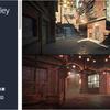 Modular City Alley Pack 中国か韓国にありそうな路地や裏路地のモジュール3Dモデルパック