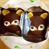 山彦さんのタヌキのケーキとシュークリーム