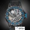 ロジャーとヤマナシの相手のExcaliburシリーズは自動的に鎖のサイドオープンの腕時計に行って鑑別評定します